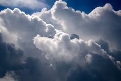 Clouds in the Sky Stock Photography