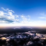 Clouds in sky atmosphere panorama Royalty Free Stock Image