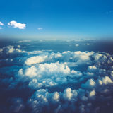 Clouds in sky atmosphere panorama Stock Images