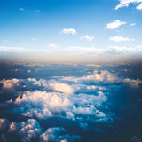 Clouds in sky atmosphere panorama Royalty Free Stock Photos