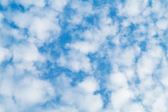 Clouds on sky background Royalty Free Stock Photo