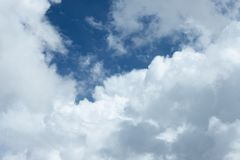 Clouds sky background stock photography