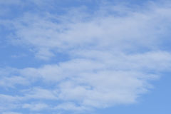 Clouds on sky Stock Image