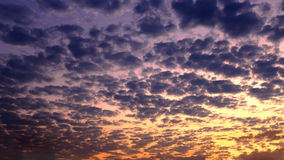 Clouds and sky  background. - sunrise / sunset Stock Photos