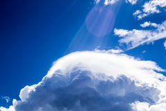 Clouds on sky Royalty Free Stock Photo