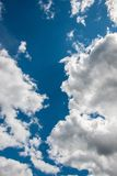 Clouds and the sky Royalty Free Stock Photos