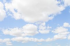 Clouds on sky. Blue sky stock images