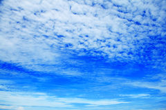 Clouds and Sky. Clouds in the blue sky Royalty Free Stock Photos