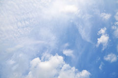 Clouds And Sky. Clouds And Blue Sky For Background Royalty Free Stock Photos