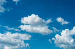 Clouds and sky blue Stock Photography