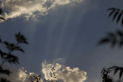 Clouds in sky Stock Images