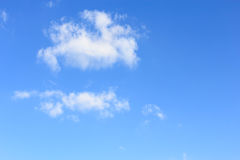 Clouds and sky. Blue sky with cloud closeup Royalty Free Stock Photography