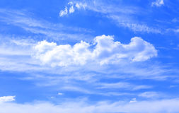 Clouds, sky Royalty Free Stock Photography