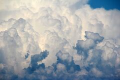 Clouds, Sky, Cloud, Dark Clouds Stock Image