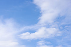 Clouds and sky. Cloudy sky pattern abstract photography Stock Photo