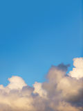 clouds on sky with copy space Royalty Free Stock Photos