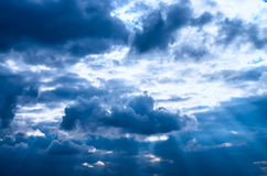 Clouds of the sky Royalty Free Stock Photo