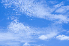 Clouds in the sky dawn cool refreshing atmosphere. Clouds in the sky dawn cool refreshing atmosphere royalty free stock photo