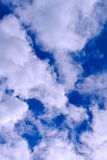 Clouds in the sky, fresh air stock image