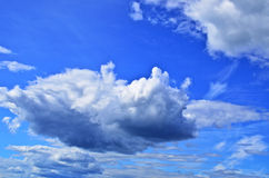The clouds in the sky Stock Photos