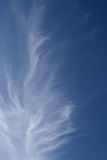 Clouds in the sky of Jerusalem Royalty Free Stock Image