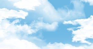 Clouds in the sky 4k