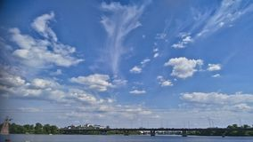 Clouds. Sky and clouds in Kiev - Ukraine Royalty Free Stock Photography