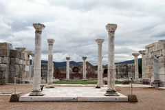 Clouds and columns Stock Image