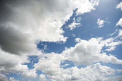 Clouds. And sky, maybe a storm is coming Stock Photography