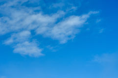Clouds in the sky Stock Image