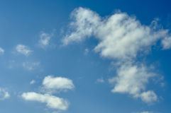 Clouds in the sky Royalty Free Stock Photography