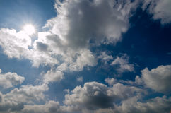 Clouds and Sky Royalty Free Stock Photo