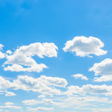 Clouds and sky - outdoors shoot Royalty Free Stock Image