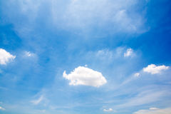 Clouds in the sky over the imagination Stock Photos