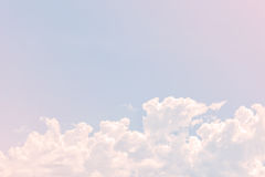 Clouds and sky Royalty Free Stock Photos