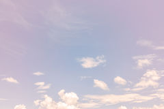Clouds and sky Royalty Free Stock Photography