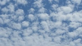 Clouds and sky. Photo made to the sky with clouds on a day at the sea Stock Photography