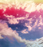 Clouds in sky Royalty Free Stock Photos