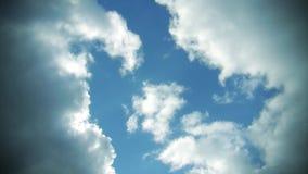 Clouds in a Sky stock video