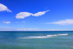 Clouds and sky on the sea Stock Photography