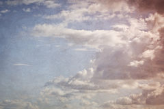 Clouds on sky Stock Photography