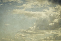 Clouds on sky Stock Images