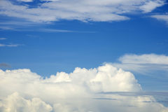 Clouds on sky Royalty Free Stock Image