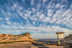 Clouds and sky of Sonoma coast Royalty Free Stock Photo