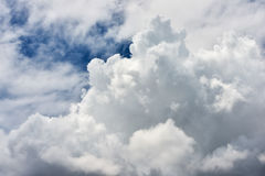 Clouds in the sky before the storm Royalty Free Stock Photography