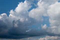 Clouds Sky before storm coming Royalty Free Stock Image