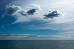Clouds in the sky. Summer stock images