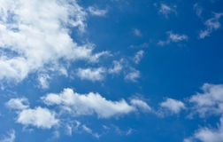 Clouds in the sky. Summer Royalty Free Stock Photo