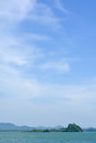 Clouds in the sky. Summer royalty free stock image