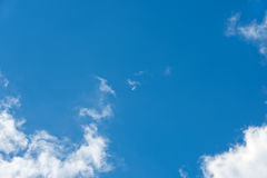 Clouds in sky Stock Photography